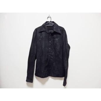 【中古】 5351プールオム 5351 PourLesHomme 長袖シャツ サイズ3 L メンズ 黒