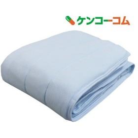 吸水速乾 クールタオルケット シングルサイズ ネイビー ( 1枚入 )