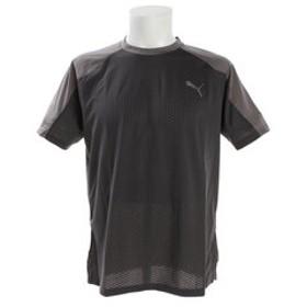 【Super Sports XEBIO & mall店:トップス】【ゼビオ限定】 A.C.E. ブロック 半袖Tシャツ 518003 06 GRY