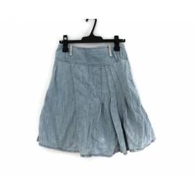 【中古】 ディーゼル DIESEL スカート サイズ25 XS レディース ライトブルー デニム