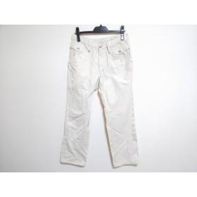 【中古】 パーリーゲイツ PEARLY GATES パンツ サイズ4 XL メンズ ベージュ グレー