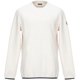 《期間限定セール開催中!》NAPAPIJRI メンズ スウェットシャツ ベージュ M ポリエステル 100% TAME