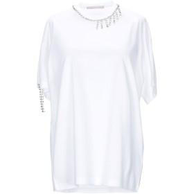 《期間限定セール開催中!》CHRISTOPHER KANE レディース T シャツ ホワイト M コットン 100% / ガラス