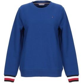 《期間限定セール開催中!》TOMMY HILFIGER レディース スウェットシャツ ブルー XS コットン 64% / ポリエステル 36%