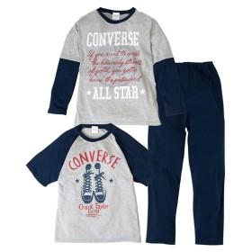 【コンバース】2トップスパジャマ(男の子 子供服 ジュニア服) キッズパジャマ