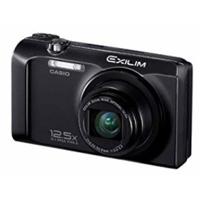 【中古 良品】 CASIO デジタルカメラ EXILIM ブラック EX-H30BK