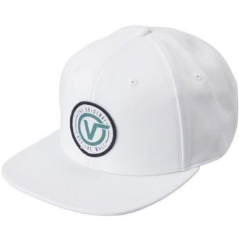 【VANSウェア】OG CIRCLE V SNAPBACK ヴァンズ キャップ VN0A3I1FWHT WHITE