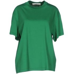 《セール開催中》GOLDEN GOOSE DELUXE BRAND レディース T シャツ グリーン XXS コットン 100%