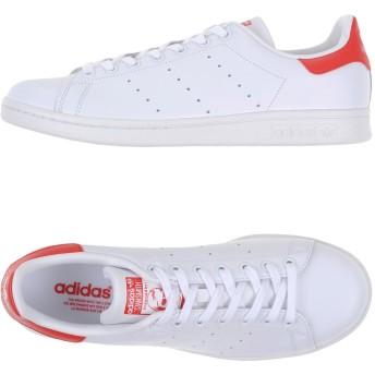 《期間限定 セール開催中》ADIDAS ORIGINALS メンズ スニーカー&テニスシューズ(ローカット) ホワイト 8.5 革 / ゴム STAN SMITH
