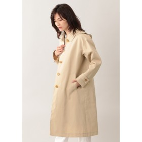 MACKINTOSH PHILOSOPHY 【はっ水】コットンボンディングコート ステンカラーコート,ベージュ