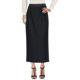 《セール開催中》ALBERTA FERRETTI レディース ロングスカート ブラック 40 バージンウール 91% / ポリウレタン 6% / 指定外繊維 3%