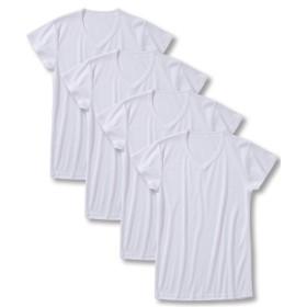 吸汗速乾半袖インナー4枚組(男の子 子供服。ジュニア服) キッズ下着