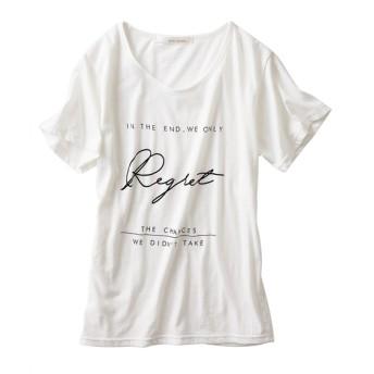 プリントTシャツ (Tシャツ・カットソー)(レディース)T-shirts