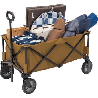 キャンプ用品 キャンピングアクセサリー キャリーワゴン Alpine DESIGN (アルパインデザイン) AD-S19-015-056 コヨーテブラウン