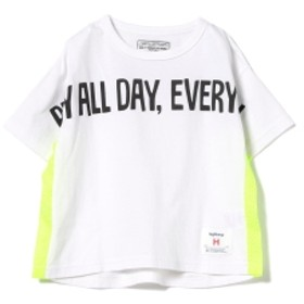 highking / playall ショートスリーブ Tシャツ 19 (ユニセックス 90~120cm) キッズ Tシャツ WHITE 100
