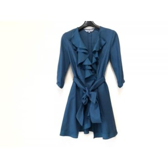 【中古】 ビアッジョブルー Viaggio Blu チュニック サイズ1 S レディース 美品 ブルー