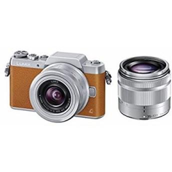 【中古 良品】 Panasonic ミラーレス一眼カメラ DMC-GF7ダブルズームレンズ