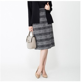 AMACA / アマカ ピクセルジャガードスカート