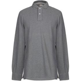《期間限定 セール開催中》ELEVENTY メンズ ポロシャツ 鉛色 XL コットン 100%