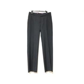 【中古】 トゥモローランド パンツ サイズ38 M レディース グレー 白 collection/ストライプ