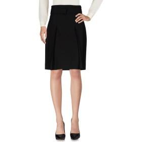 《セール開催中》MAISON MARGIELA レディース ひざ丈スカート ブラック 46 バージンウール 75% / ナイロン 16% / モヘヤ 7% / ポリウレタン 2%