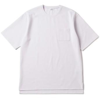 ジュンレッド/【吸水速乾】ポンチ半袖T/ホワイト/S