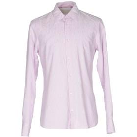 《期間限定セール開催中!》SCERVINO STREET メンズ シャツ ピンク 46 コットン 100%