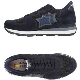 《セール開催中》ATLANTIC STARS レディース スニーカー&テニスシューズ(ローカット) ダークブルー 36 革 / 紡績繊維