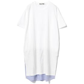 【40%OFF】 ビームス ウィメン ALOYE / ショートスリーブ Tシャツ ワンピース レディース WHITE ONESIZE 【BEAMS WOMEN】 【セール開催中】
