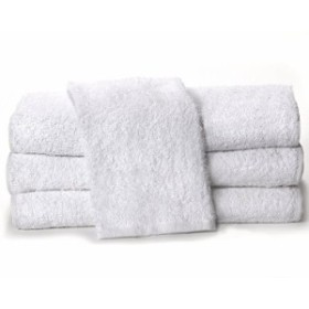 Towels by Doctor Joe White 38.1cm x 63.5cm China Soaker Pack of 12