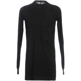 《期間限定セール開催中!》DRKSHDW by RICK OWENS メンズ T シャツ ブラック S コットン 100%