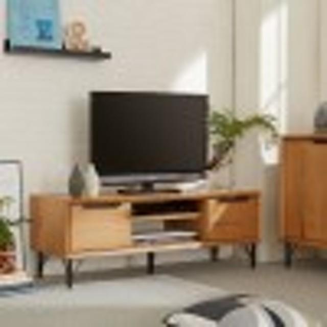 オーク材のテレビ台
