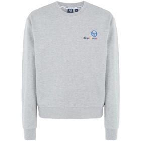 《期間限定セール開催中!》SERGIO TACCHINI メンズ スウェットシャツ グレー XL コットン 100% campbell sweater