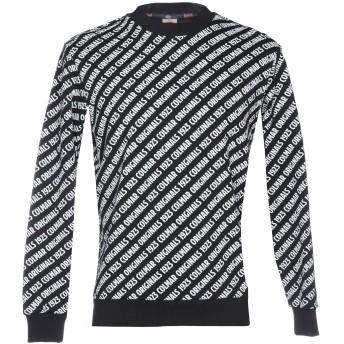 《期間限定セール開催中!》COLMAR メンズ スウェットシャツ ブラック XS コットン 100%