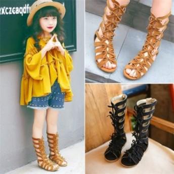 歐米 ハイカット サンダル キッズ 子供 女の子 子供靴 スポーツサンダル スポサン 歩きやすい ブーツ 軽量 シューズ 子ども