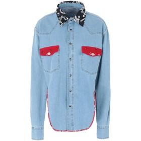 《9/20まで! 限定セール開催中》FORTE DEI MARMI COUTURE レディース デニムシャツ ブルー XS コットン 100%