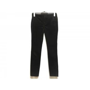 【中古】 ドゥロワー Drawer パンツ サイズ34 S レディース 黒 コーデュロイ
