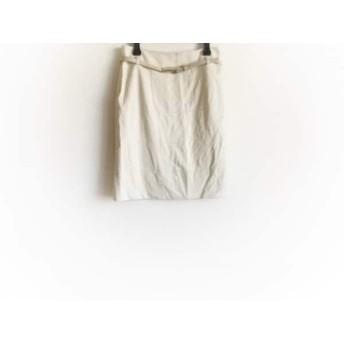 【中古】 ナラカミーチェ NARACAMICIE スカート サイズ2 M レディース ベージュ