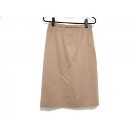【中古】 ランバンコレクション LANVIN COLLECTION スカート サイズ38 M レディース ベージュ