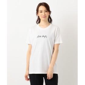 エニィスィス RobertaBayleyバッグフォト Tシャツ レディース ホワイト系 2 【any SiS】