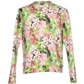 《セール開催中》PATRIZIA PEPE メンズ スウェットシャツ ピンク M コットン 100%
