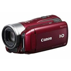 【中古 良品】 Canon フルハイビジョンビデオカメラ iVIS HF M31 レッド IV