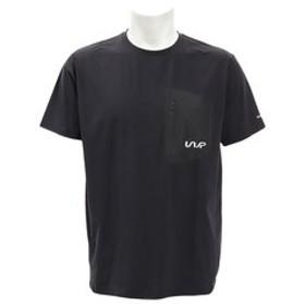 【Super Sports XEBIO & mall店:トップス】CN 半袖ポケットTシャツ WB31JA07 BLK