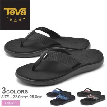 TEVA テバ サンダル ボヤフリップ VOYA FLIP 1019040 レディース 靴 アウトドア ビーサン 海 川