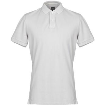 《セール開催中》ELEVENTY メンズ ポロシャツ ライトグレー XL コットン 100%