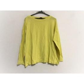 【中古】 ミッソーニ MISSONI 長袖Tシャツ サイズ42 M レディース イエロー