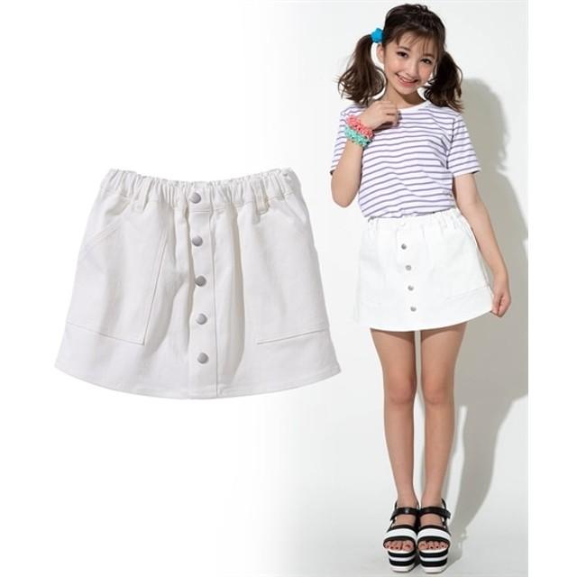 ストレッチツイルスカパン(女の子 子供服。ジュニア服) パンツ
