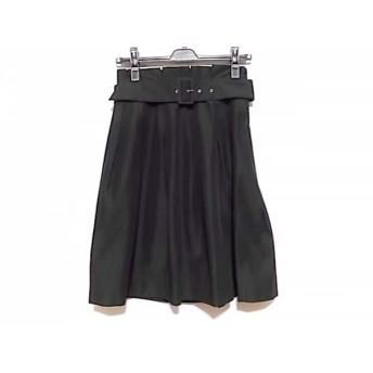 【中古】 ナラカミーチェ NARACAMICIE スカート サイズ1 S レディース 黒