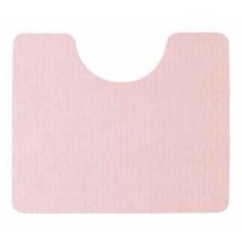 ぴたQ 吸着 トイレマット 60×50cm 足元マット[B-836](ピンク)