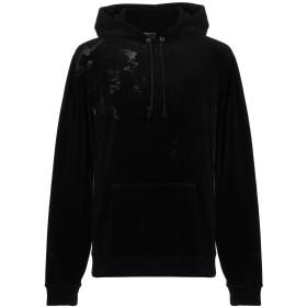 《期間限定 セール開催中》SAINT LAURENT メンズ スウェットシャツ ブラック XS コットン 80% / ポリエステル 20%